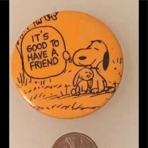 1950 Snoopy Pin